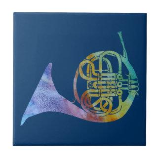Trompa francesa de Colorwashed