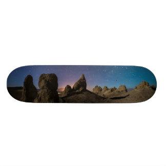 Trona e a Via Láctea Shape De Skate 18,4cm
