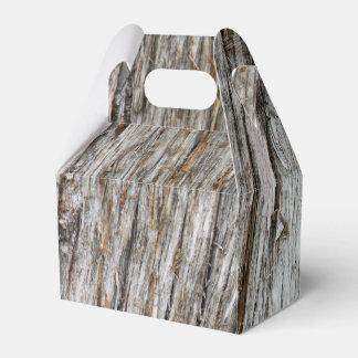 Tronco de árvore caixinha de lembrancinhas