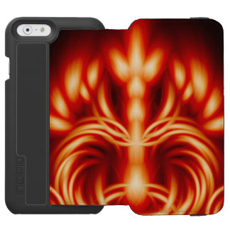 Trono do rei do fogo capa carteira incipio watson™ para iPhone 6
