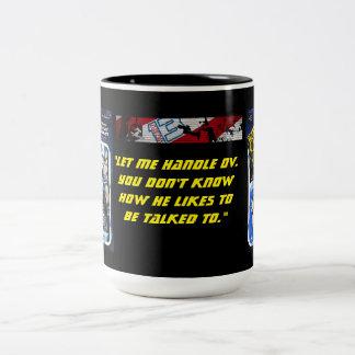 Troopin com unidade 13 - grandes momentos, punho caneca de café em dois tons