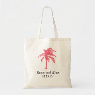 Trópicos da palmeira | que Wedding Sacola Tote Budget