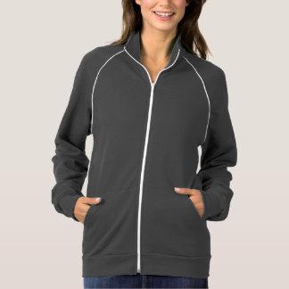Trotar com a jaqueta da trilha dos pequenos jaqueta estampada
