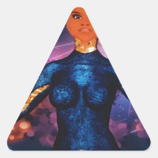 true_nubia_mascot1 adesivo triangular