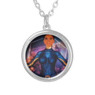 true_nubia_mascot1 colar banhado a prata