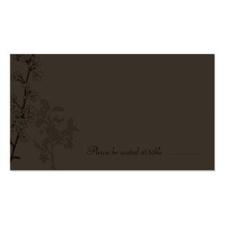 Trufa (cartão do lugar) cartão de visita