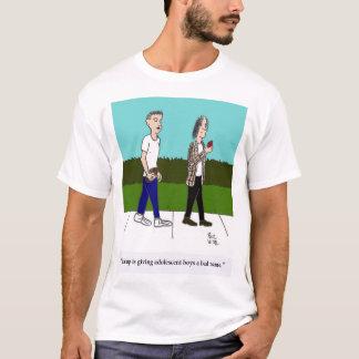 Trunfo e meninos adolescentes camiseta