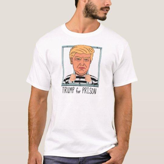 Trunfo irritado para a prisão camiseta