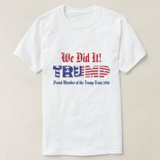 Trunfo nós fizemo-lo camiseta
