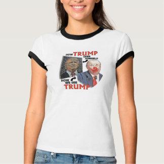 Trunfo o palhaço camisetas