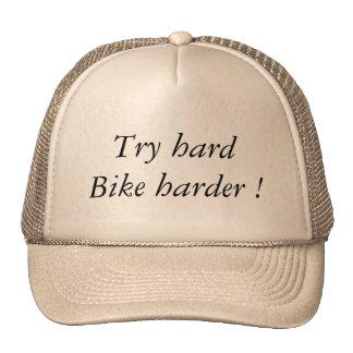Try hard Bike Harder Boné