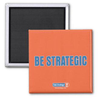 TS • Magnet_BeStrategic Ímã Quadrado