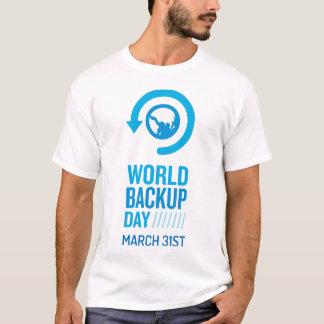 Tshirt alternativo do valor do dia do mundo camiseta