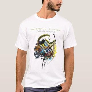 Tshirt árabe e islâmico da arte camiseta