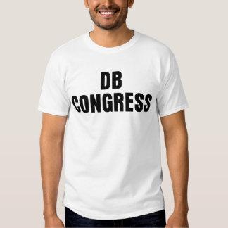 Tshirt básico do congresso do DB da luz