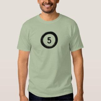 Tshirt básico do logotipo de 502 origens