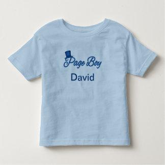 Tshirt bonito do menino da página a personalizar camiseta infantil