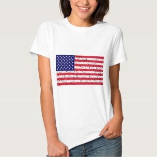 Tshirt da bandeira americana dos EUA