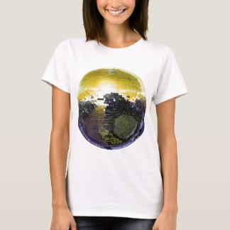 tshirt da bola do disco camiseta