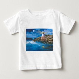 Tshirt da criança do farol do monte do castelo