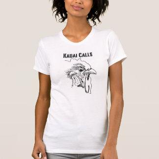Tshirt da galinha de Kauai Camiseta