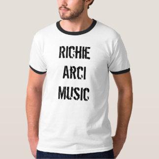 Tshirt da música de Richie Arci Camiseta