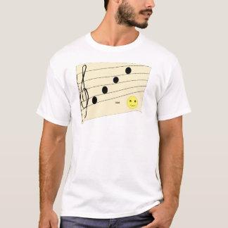 tshirt da piada da música camiseta