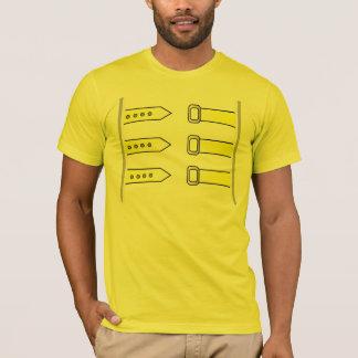 Tshirt da rainha da jaqueta amarela de Freddie