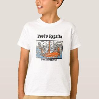 TShirt da regata dos tolos de 2009 miúdos