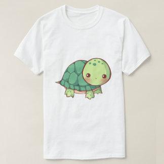 Tshirt da tartaruga de Kawaii Camiseta
