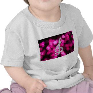 Tshirt de Gclef da música
