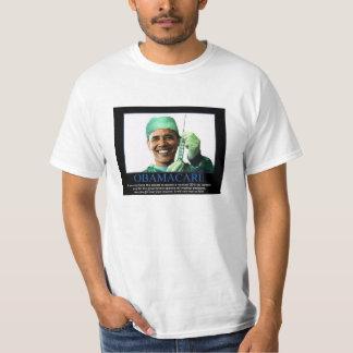 Tshirt de ObamaCare - Obama com seringa Camiseta