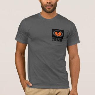 Tshirt de SKYWARN com parte dianteira e logotipo Camiseta