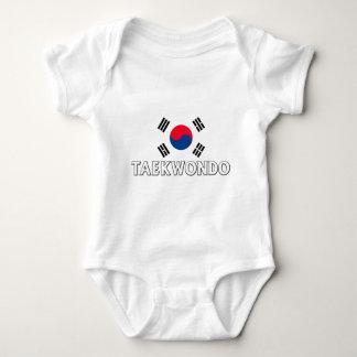 TShirt de Taekwondo Body Para Bebê