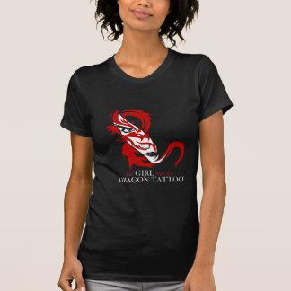 Tshirt de Tatto do dragão de Lisbeth Salander