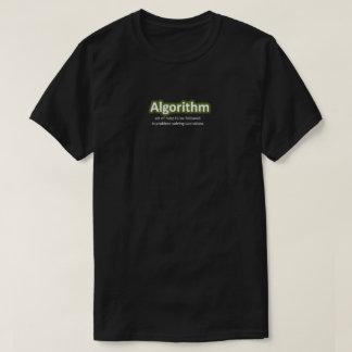 Tshirt do algoritmo camiseta