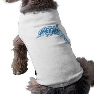 tshirt do cão camisa sem mangas para cachorro