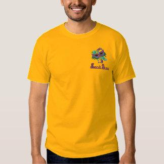 Tshirt do carnaval com máscara colorida