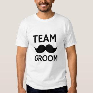 Tshirt do despedida de solteiro do noivo da equipe