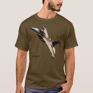 Tshirt do esquadrão do agressor do F-16 da força Camiseta