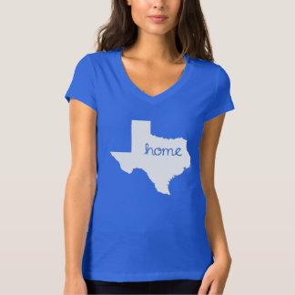 Tshirt do estado de origem de TEXAS