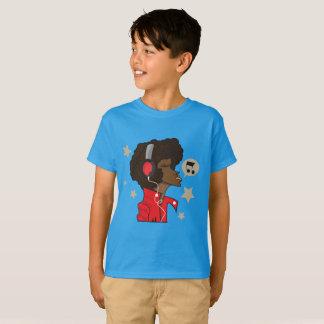 TShirt do Hanes TAGLESS® do miúdo, safira com Camiseta