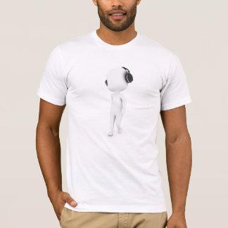 Tshirt do homem da música camiseta