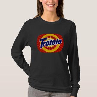 Tshirt do Longsleeve das mulheres de Trololo Camiseta
