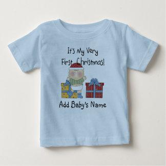 Tshirt do Natal do bebé ø Camiseta Para Bebê