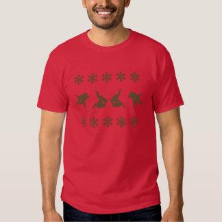 Tshirt do Natal do judo