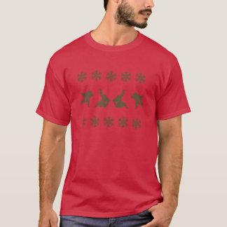 Tshirt do Natal do judo Camiseta