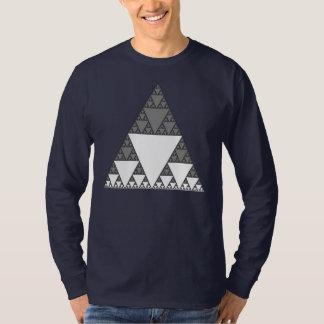 Tshirt do nerd da matemática da arte do Fractal Camiseta