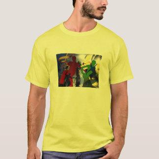 Tshirt do partido da música de dança camiseta
