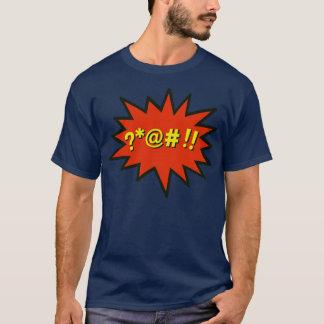 Tshirt do pop art da bolha da praga camiseta
